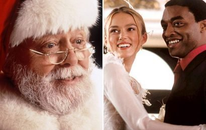 Richard Attenborough is the nation's favourite on-screen Father Christmas, reveals new survey