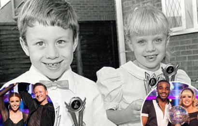 Strictly's Joanne Clifton shares cute throwback pic of brother Kevin as a child to celebrate his win with Stacey Dooley