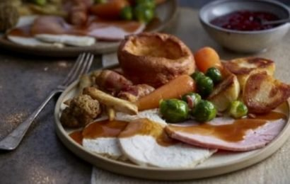 Aldi is selling a Christmas dinner for two with all the trimmings for just £9 – and it's MUCH cheaper than Tesco's version
