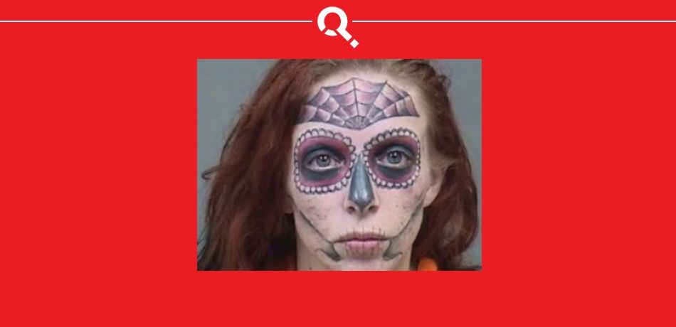 Alyssa Zebrasky's Mugshot For Allegedly Stealing From Walmart Is Giving The Internet Nightmares
