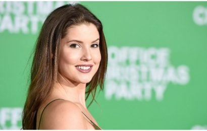 Amanda Cerny Flaunts Major Cleavage And Bites Her Lip To Strike A Sexy Pose In New Instagram Snap