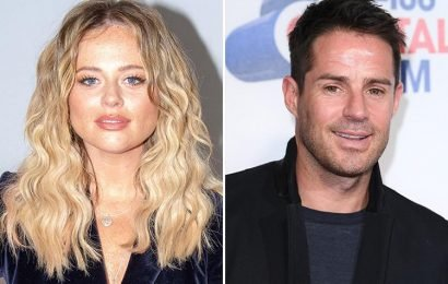 Emily Atack insists she is 'enjoying the single life' despite asking Jamie Redknapp to call her on I'm a Celeb