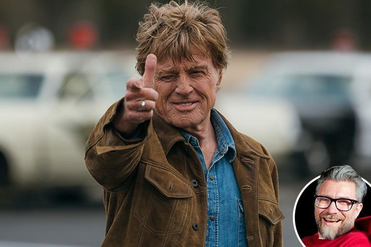 The Old man and the Gun is a totally watchable film of a true story, starring Robert Redford