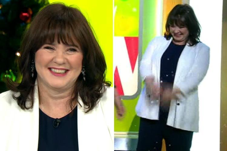 Coleen Nolan returns to Loose Women for the first time in four months after explosive row with Kim Woodburn