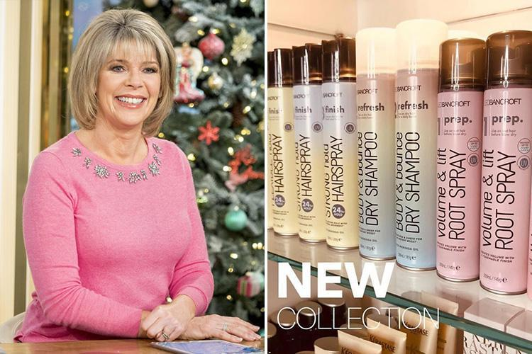 Ruth Langsford's hairdresser has launched a range of £3 products for thinning hair… and they're available in Tesco