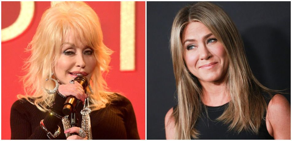 Dolly Parton Reveals Her Husband's Jennifer Aniston Threesome Fantasy