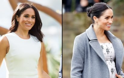 Pregnant Duchess Meghan's Baby Bump Has Really Grown: Watch!