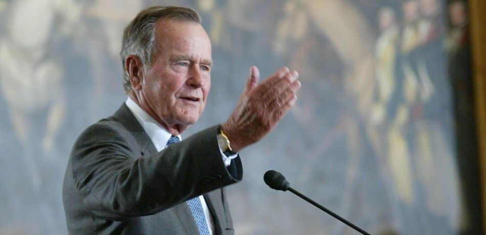 George H.W. Bush's Willingness To Stand Up To The NRA Earns Him Praise After His Passing
