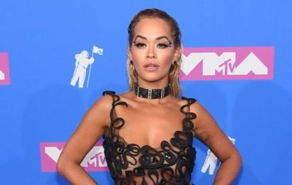 Rita Ora Wore Four Different Black Dresses in a Single Day