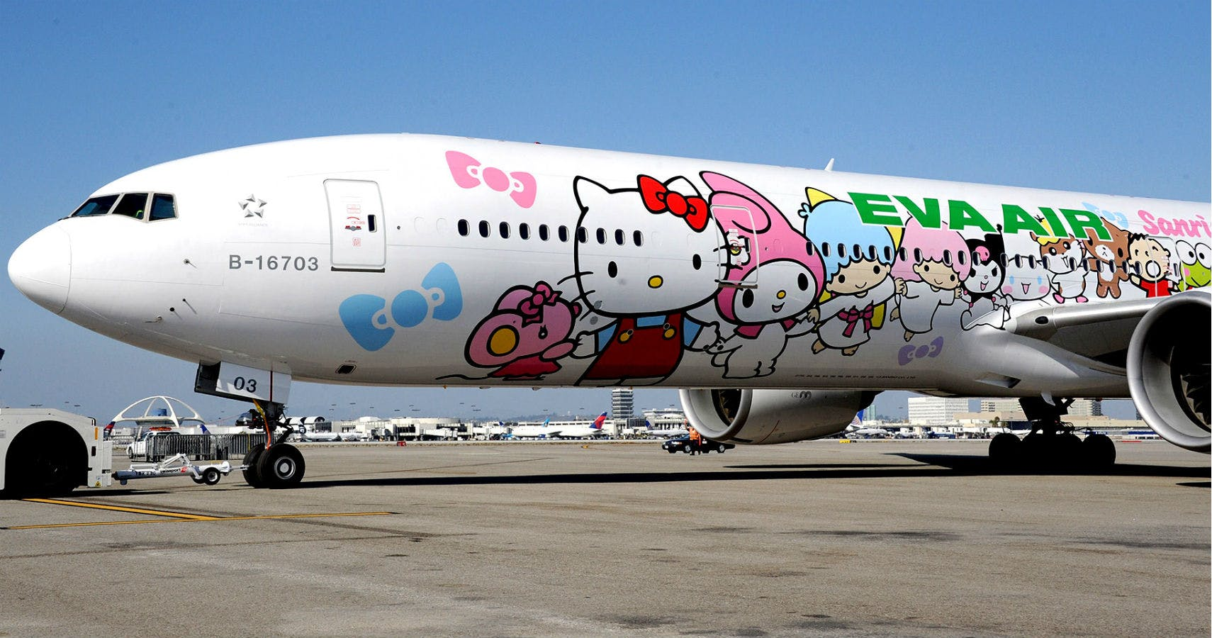 Hello Kitty Themed Airline Is Ultimate Flight Distraction