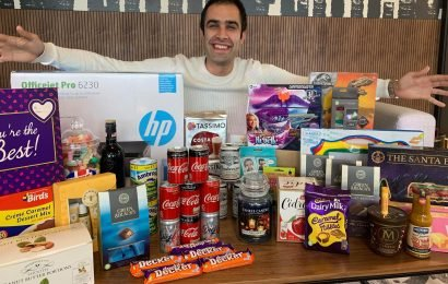 Savvy saver gets £1,500 worth of freebies a year including Yankee candles, perfume and even a printer – and reveals how you can do it too