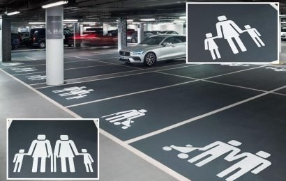 Westfield shopping centre forced to scrap bizarre PC car park spaces meant to celebrate 'diverse' families after customers confused about which to use