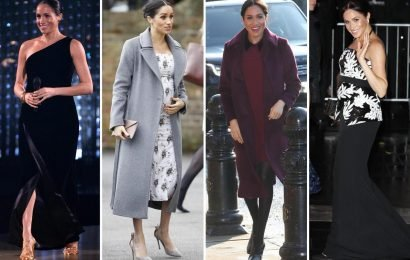 Meghan Markle's best maternity outfits of 2018, including THAT Givenchy dress