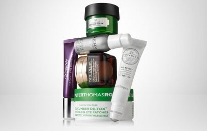From The Body Shop Drops Of Youth Bouncy Eye Mask to Estée Lauder Advanced Night Repair, these products will perk up your eyes after festive excess