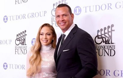 Jennifer Lopez Rocks A Completely Sheer Dress On A Swing With Alex Rodriguez In New Photo