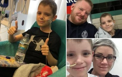 Parents heartbroken as son, 8, with cancer dies hours after desperate plea to raise £50k for treatment