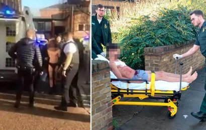 Three people rushed to hospital after stabbing attack at doctors' surgery in London