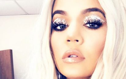 Khloe Kardashian Shows Off Toned Abs In Sparkling Bra Top Less Than A Year After Giving Birth