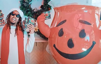Lil Jon Drops New Christmas Song With The Kool-Aid Man & Everyone's Stopping Everything to Listen
