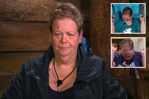 Anne Hegerty was ruled out of I'm A Celeb Bushtucker Trials after being 'freaked out' by the first – not because she's 'a fat lump'