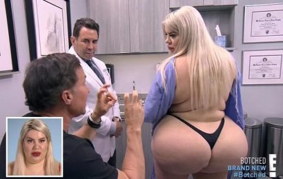 Model, 25, wants world's biggest bum after having three Brazilian butt lifts in four years