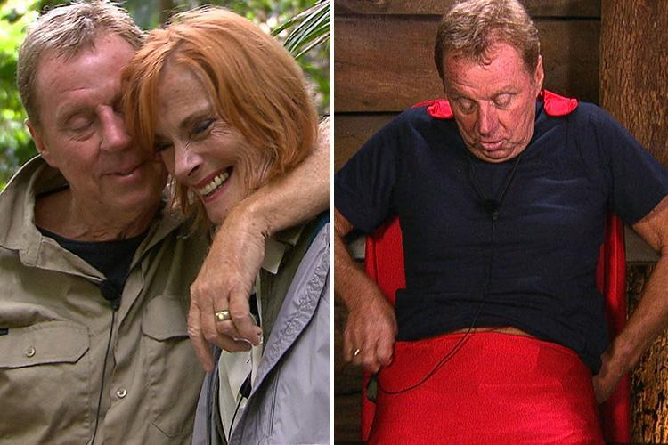 I'm A Celebrity's Harry Redknapp leaves viewers in hysterics as he jokes about wife Sandra's huge knickers