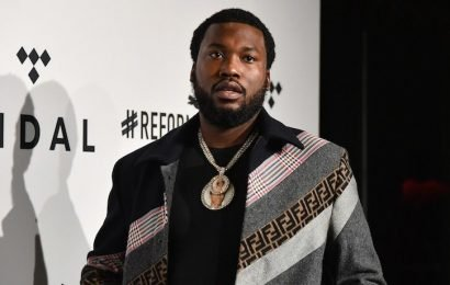 Meek Mill's Grandmother's House Defaced By Racist Graffiti