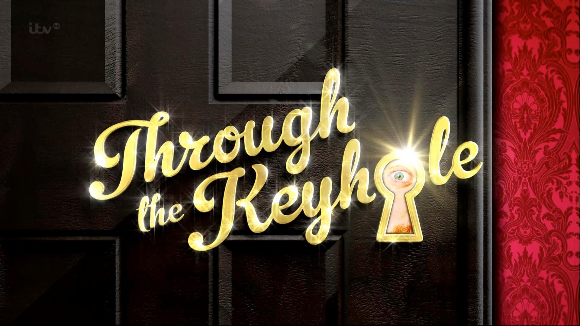 When is Through The Christmas Keyhole on ITV and which celebrities are appearing?