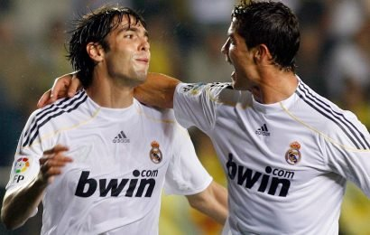 Kaka reveals Cristiano Ronaldo bought phones for all Real Madrid staff