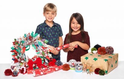 How your children can get creative making Christmas decorations for the family