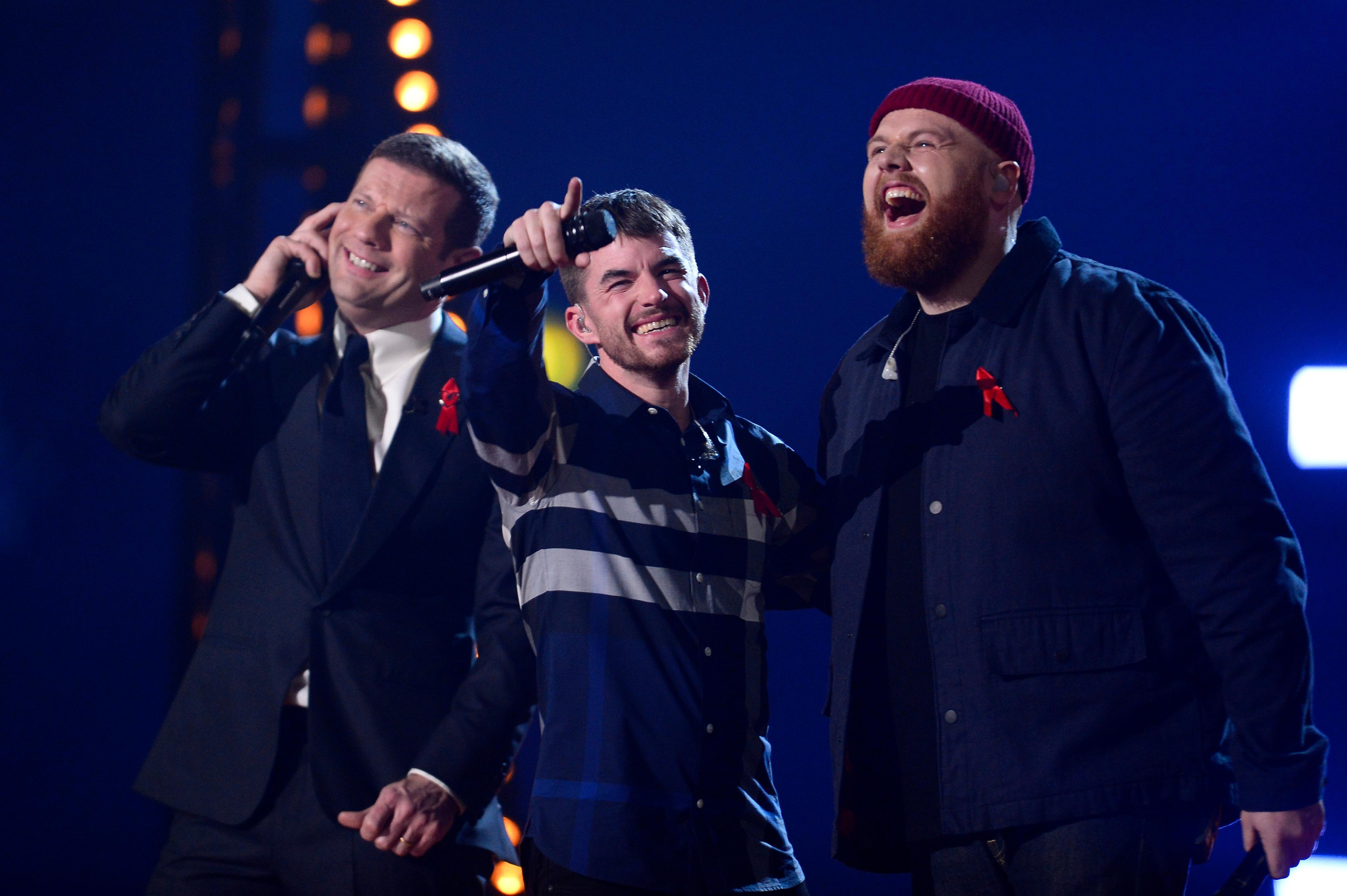 X Factor fans confused as Dermot O'Leary tells Anthony Russell he's trending on Twitter – but he wasn't