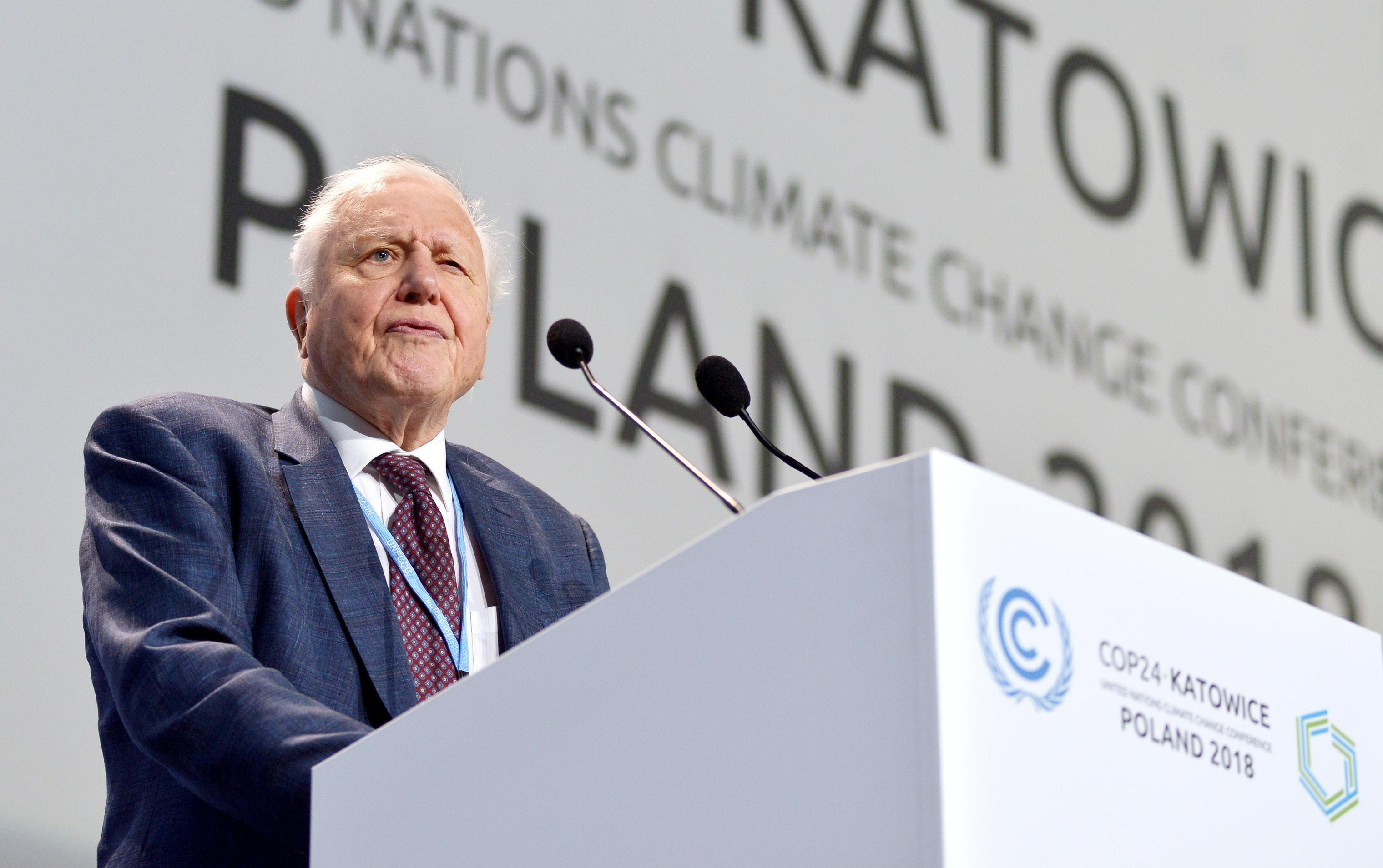 Sir David Attenborough says climate change is 'greatest threat' facing Earth and will 'destroy civilisation' if it is not tackled