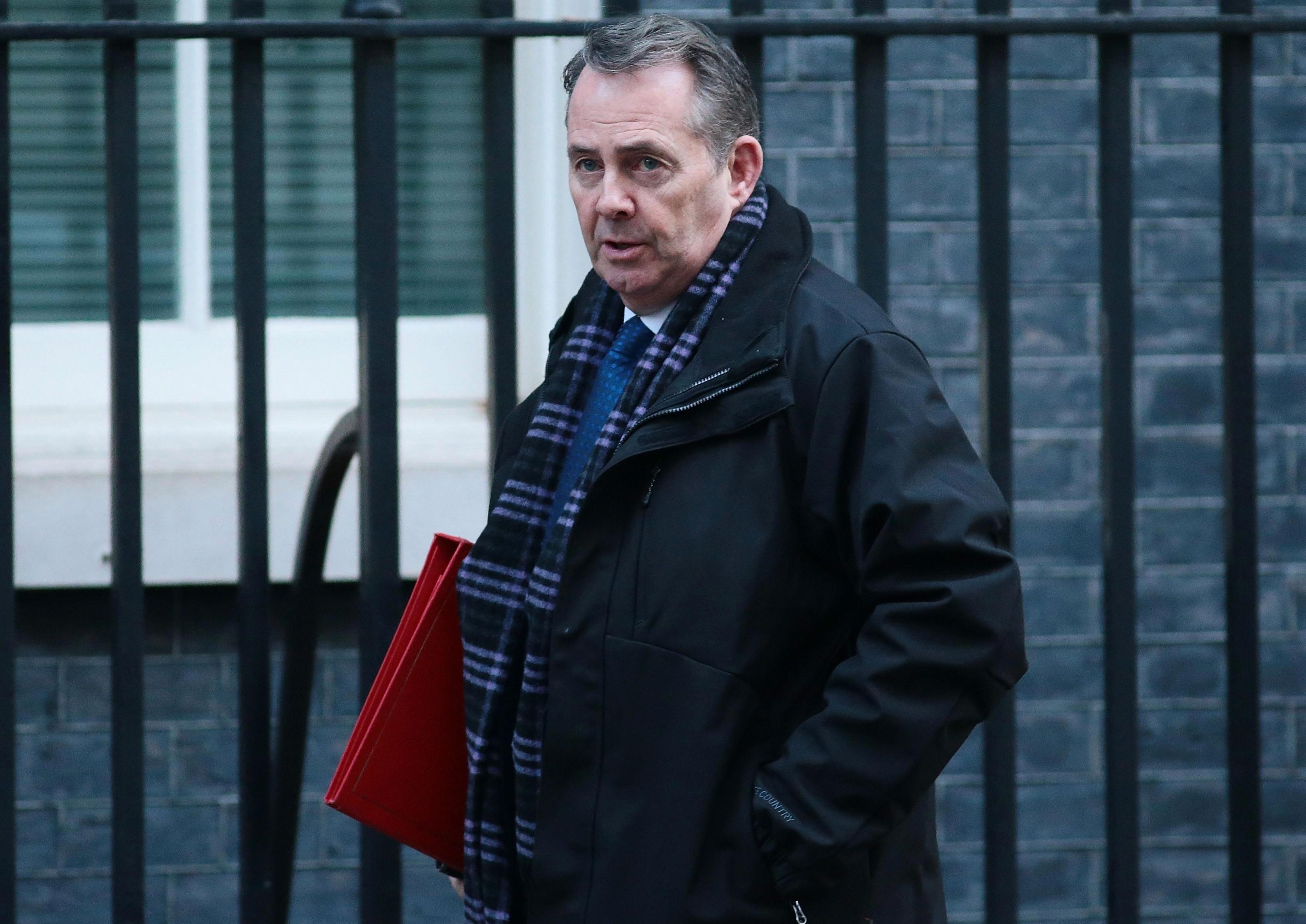Liam Fox has accused MPs of plotting to steal Brexit from the British people after they inflicted another landmark defeat on the Government