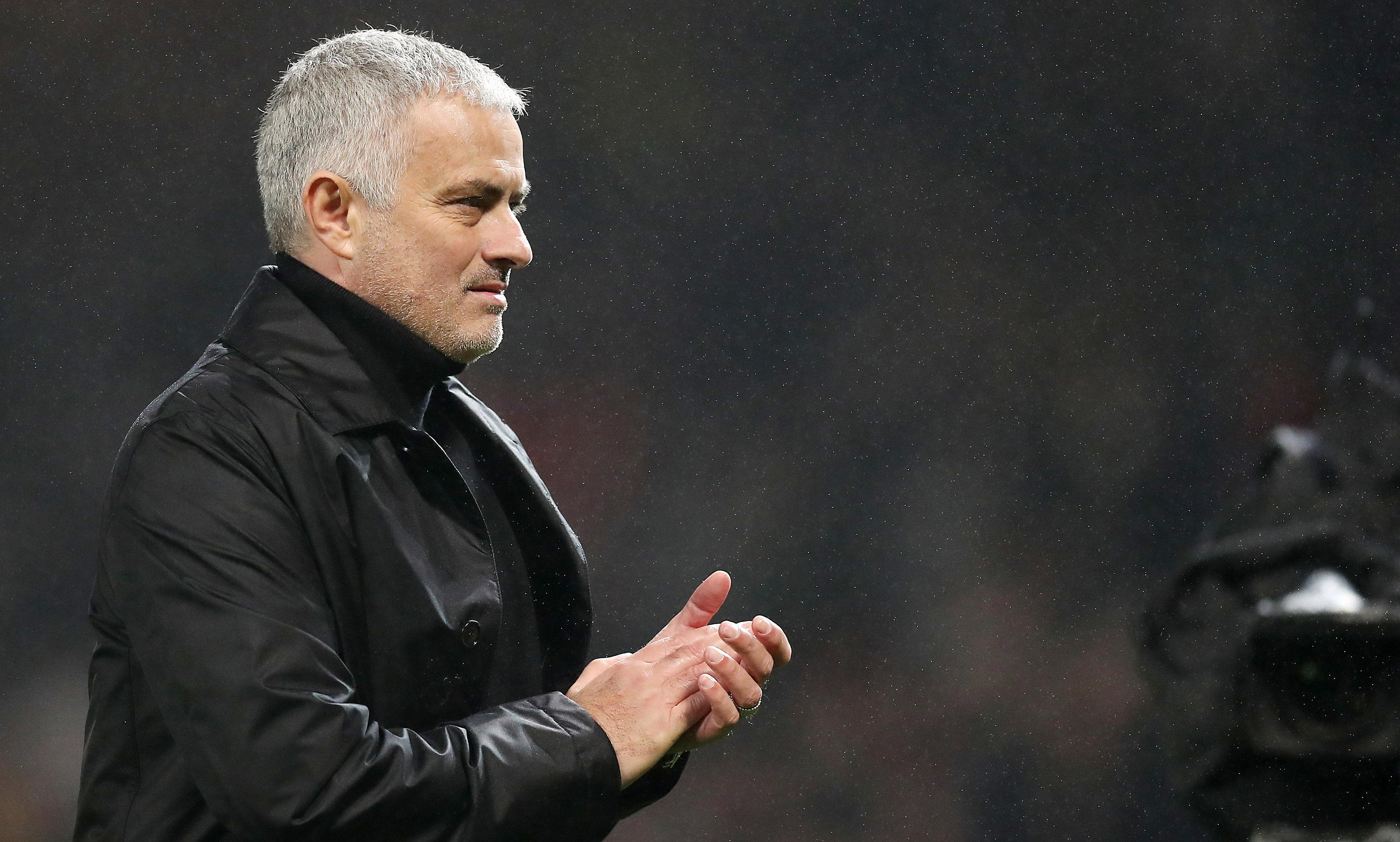 Mourinho apologises to young fan after Manchester United boss kicks a wall in anger