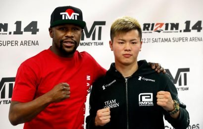 Floyd Mayweather vs Tenshin Nasukawa: When is the fight, what are rules and undercard and is the exhibition on TV?
