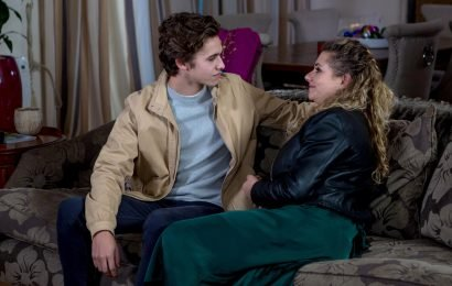Emmerdale spoilers: Jacob Gallagher forced to listen to dad David Metcalfe romping with Maya Stepney – minutes after they kiss