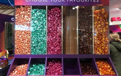 John Lewis's Christmas Quality Street pic'n'mix runs out of favourites as shoppers hoard Purple One and Strawberry Delight