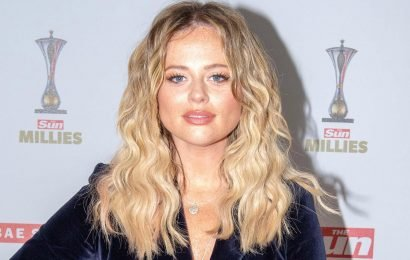 Emily Atack slams bodyshamer who told her 'starvation suits you' after I'm a Celeb weight loss