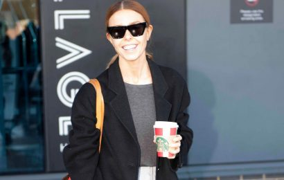 Strictly's Stacey Dooley beams as she grabs a coffee with her boyfriend hours after winning the glitterball