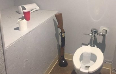 These bizarre items found in men's loos will make you glad you don't live here