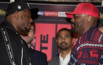 Dillian Whyte vs Dereck Chisora 2: Live stream, weigh in, what TV channel, start time, odds, full undercard, and what they said