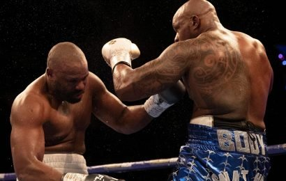 Dereck Chisora was ahead on two scorecards before brutal knockdown by Whyte