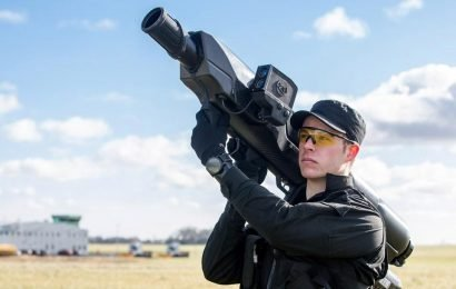 Cops at British airports to be armed with BAZOOKAS to shoot down drones amid fears of copycat attacks