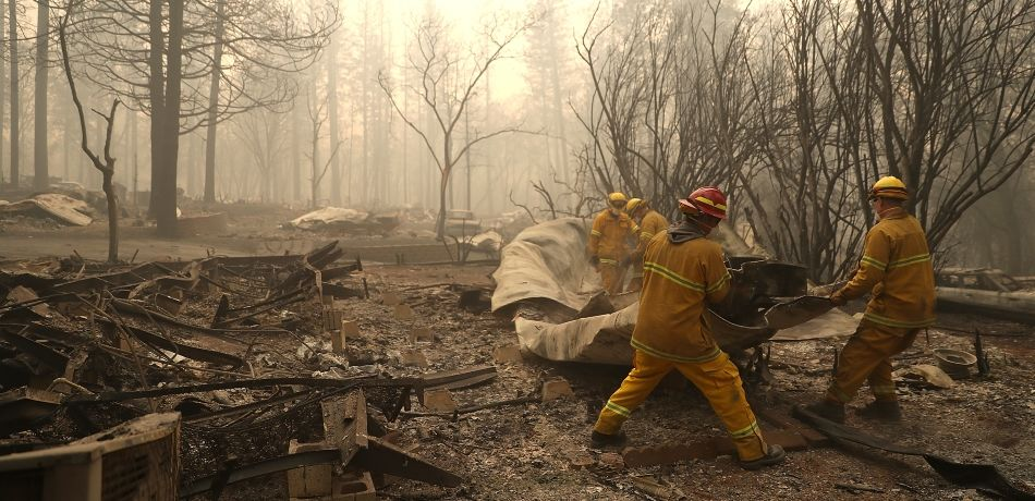 Paradise, California, Residents Return To Town After Wildfire Killed 85 & Destroyed 14,000 Homes