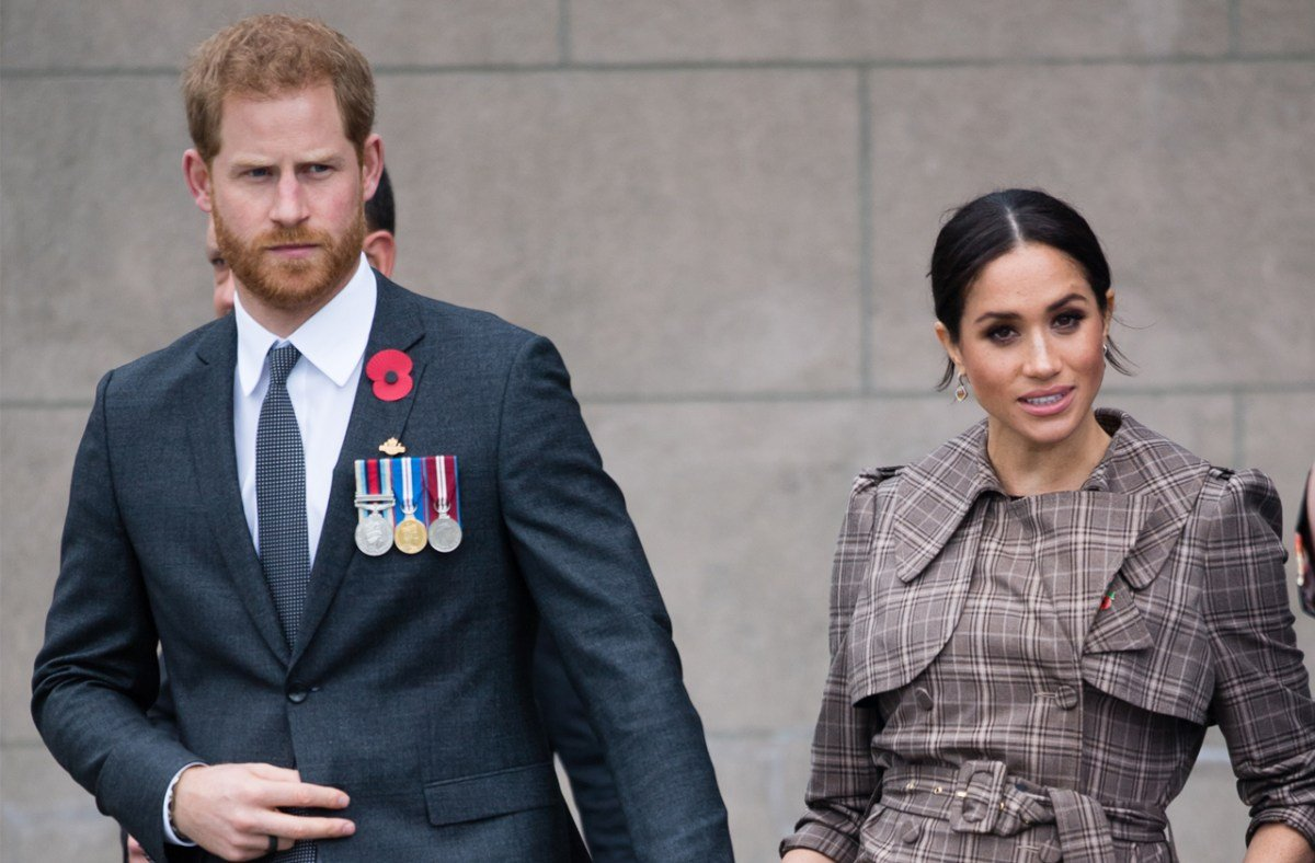 Harry & Meghan 'Beefing Up' Security After Neo-Nazi Death Threats