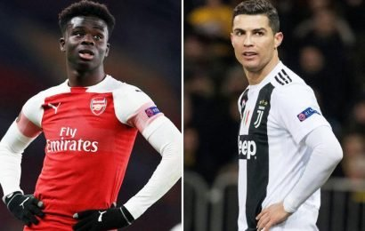 Owen insists Arsenal have a star in Saka and compares him to Ronaldo