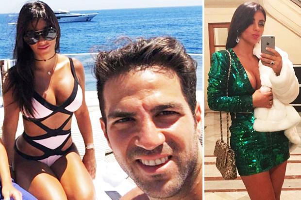 Cesc Fabregas' move from Chelsea to AC Milan may depend on wife Daniella Semaan
