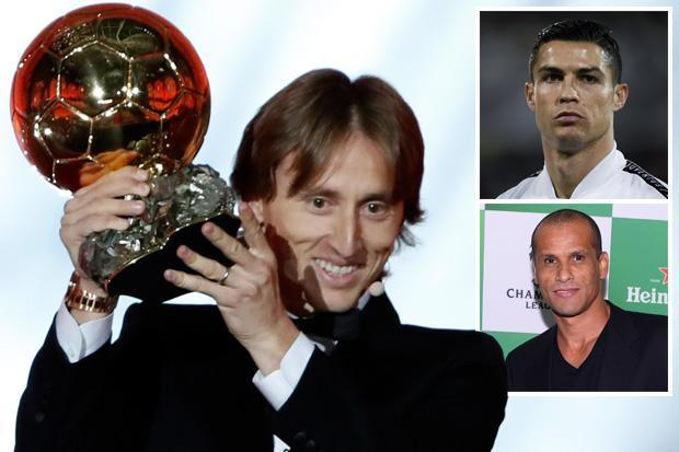 Cristiano Ronaldo deserved Ballon d'Or says Rivaldo as concerns over result deepen after claim journalist who voted 'doesn't exist'