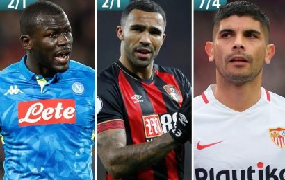 Every Premier League side's most likely January signing: from Kouliably to Man Utd, Wilson to Chelsea and Ever Banega to Arsenal