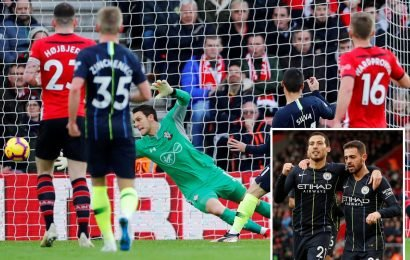 Southampton 0-1 Man City LIVE SCORE: Latest updates and commentary for the Premier League clash